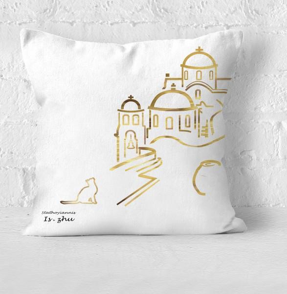 Welcome Santorini Gold